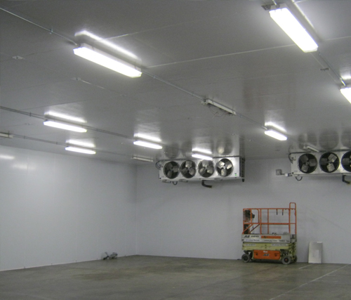 Custom walk in coolers commercial refrigeration for Walk in freezer motor