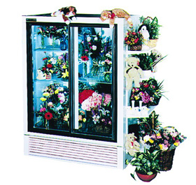 Economical Plugin Flower Display Cases and Coolers - SRC Refrigeration - 300
