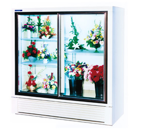 Economical Plugin Flower Display Cases and Coolers - SRC Refrigeration - 400