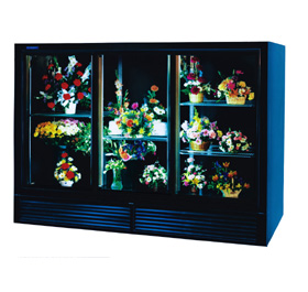 Economical Plugin Flower Display Cases and Coolers - SRC Refrigeration - 8001