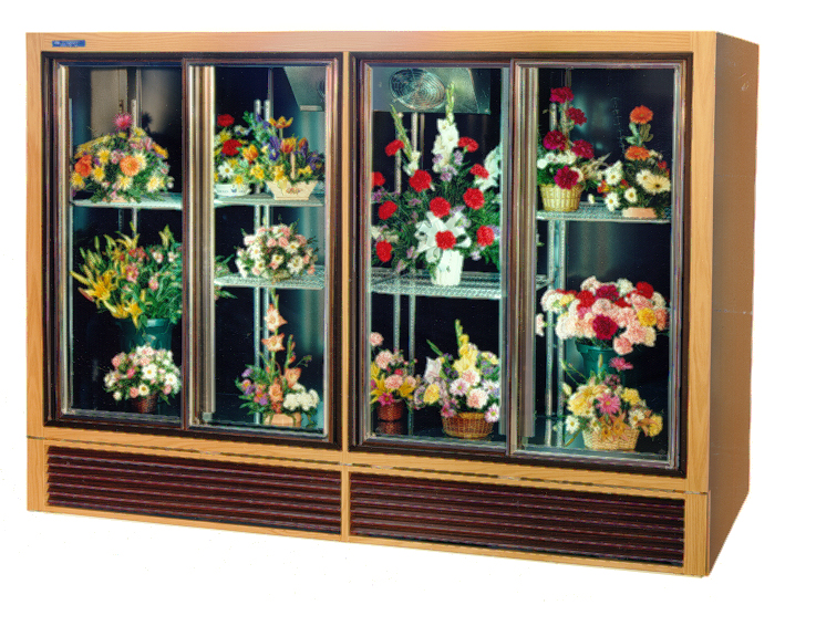 Economical Plugin Flower Display Cases and Coolers - SRC Refrigeration - 808F4