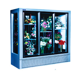 Economical Plugin Flower Display Cases and Coolers - SRC Refrigeration - economical-570f-lg