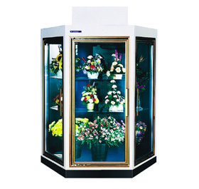 Geometric Floral Coolers - Commercial Refrigeration Manufacturer - SRC Refrigeration - geometric-model1-2-lg