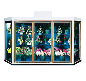 Geometric Floral Coolers - Commercial Refrigeration Manufacturer - SRC Refrigeration - geometric-model3-2-lg